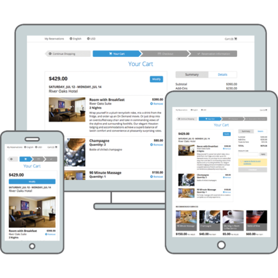 Booking Engine_Responsive Design